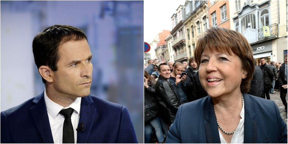 """Benoît Hamon, frustré d'être snobé par Martine Aubry : """"C'est quand même moi qui l'ai faite première secrétaire !"""""""