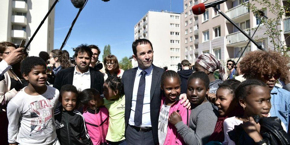 """Benoît Hamon plaisante sur son statut de """"Président des moins de 10 ans"""""""