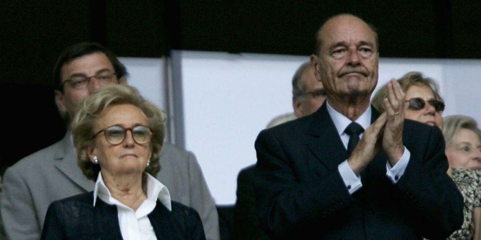 Bernadette Chirac affirme qu'il est impossible de parler avec Jacques Chirac pendant un match de foot