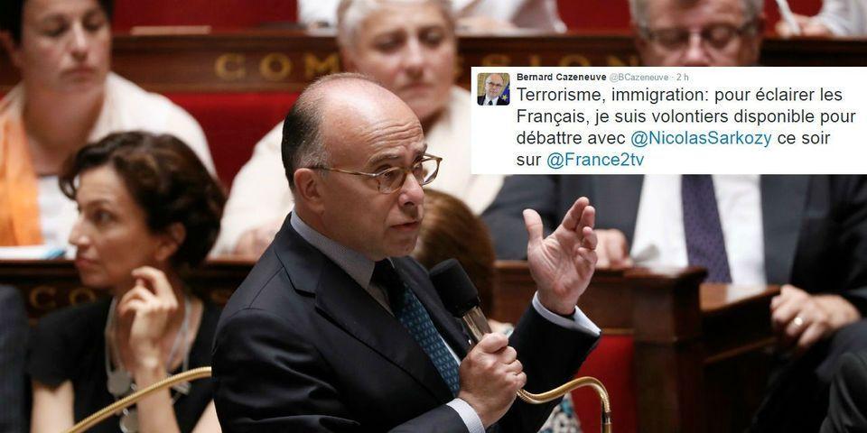 Bernard Cazeneuve tente de s'inviter à un débat sur France 2 avec Nicolas Sarkozy (et se fait rembarrer)