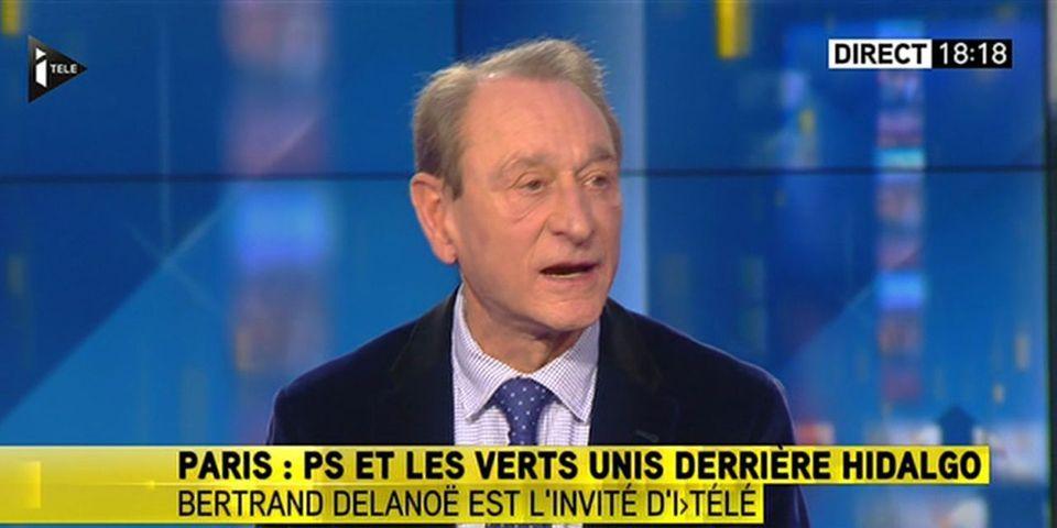 Bertrand Delanoë relativise le score de NKM, aidée par les barons d'ouest parisien selon lui