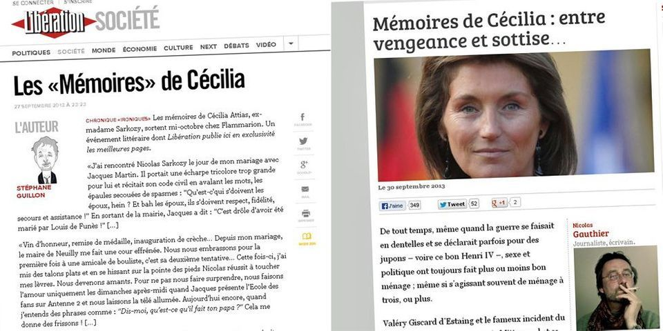 Stéphane Guillon invente les Mémoires de Cécilia ex-Sarkozy, Boulevard Voltaire se fait avoir