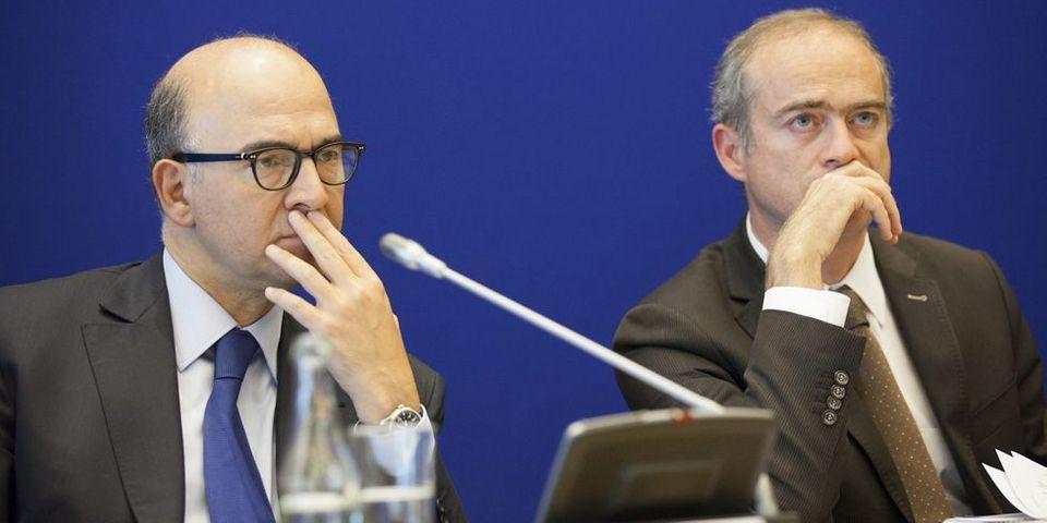 Bras de fer entre Jean-Marc Ayrault et Pierre Moscovici sur le changement du directeur du Trésor