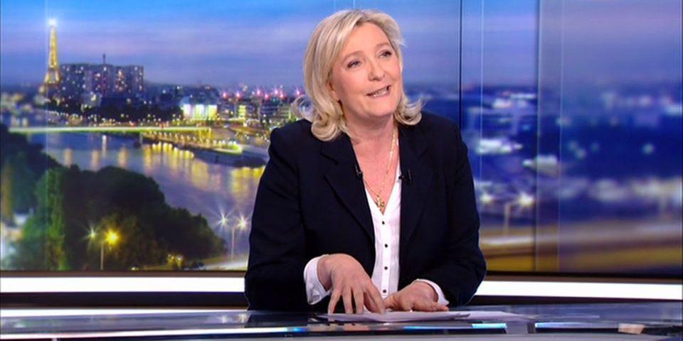 Breaking news : Marine Le Pen est candidate à la présidentielle de 2017