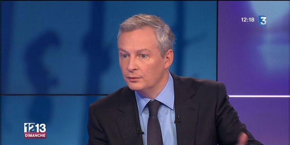 Bruno Le Maire apporte son soutien à la candidature d'Hervé Morin aux régionales en Normandie