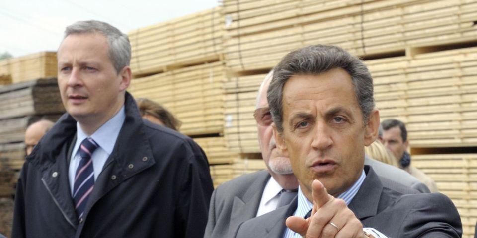 Pour démentir l'idée d'un ralliement, Le Maire ressort les vieilles insultes que lui lançait Sarkozy à la fin de l'ère Chirac