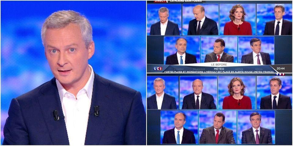 """Bruno Le Maire reconnaît n'avoir pas réussi """"à mettre ses tripes sur la table"""" lors du premier débat de la primaire"""
