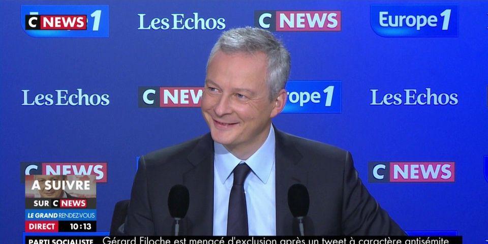 Bruno Le Maire s'engage déjà à soutenir Emmanuel Macron pour la présidentielle de 2022