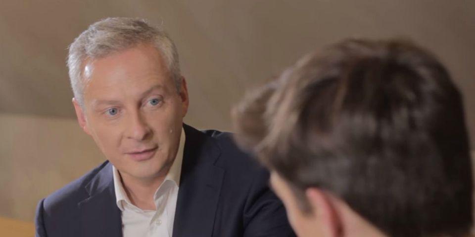 """Bruno Le Maire veut que les enfants se disent """"putain, être français, c'est la classe"""""""