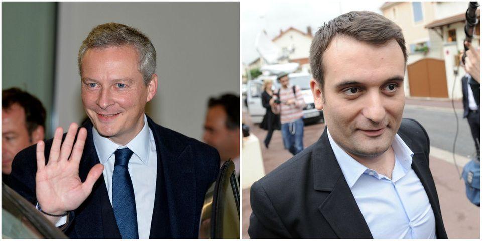 """Bruno Le Maire veut """"réexaminer nos choix diplomatiques"""" avec le Qatar et l'Arabie Saoudite, tout comme Florian Philippot"""