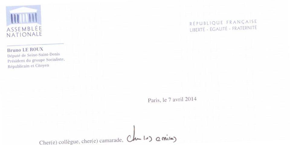 Bruno Le Roux appelle les députés socialistes à l'unité avant le discours de politique générale de Manuel Valls