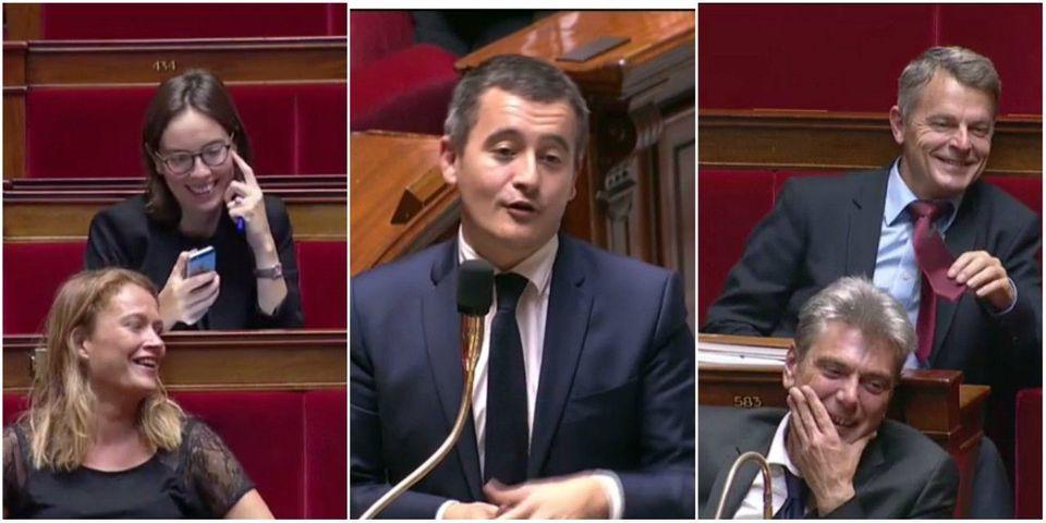 Budget 2018 : Quand Gérald Darmanin taquine les communistes en citant De Funès et Desproges