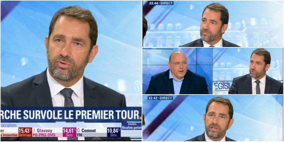 """Castaner justifie le coup de fil de pression de Bayrou à Radio France : """"Ça s'appelle le off"""""""