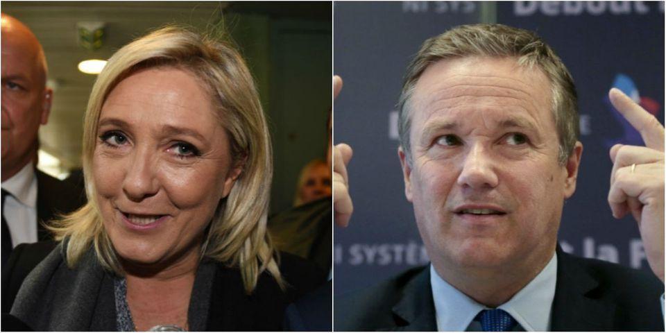 Ce maire LR qui votera Marine Le Pen à la présidentielle après avoir parrainé Nicolas Dupont-Aignan