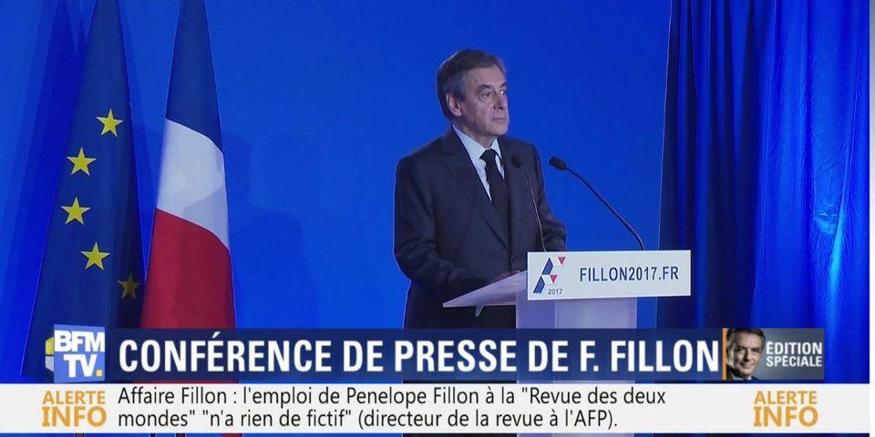 """Ce moment où François Fillon balance à une journaliste de Mediapart que """"lui"""" n'a """"jamais eu de redressement fiscal"""""""