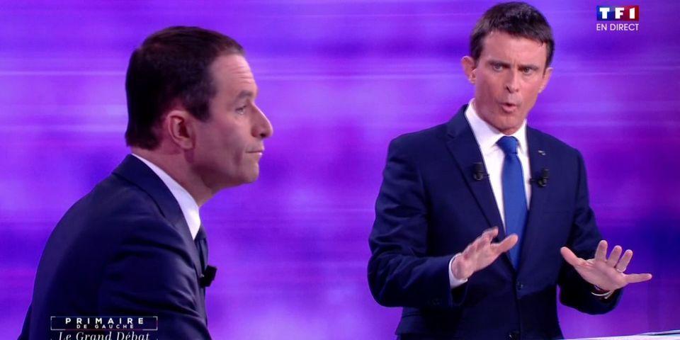 Ce moment où Valls invite Dieudonné et Soral dans le débat de la primaire de la Belle Alliance Populaire