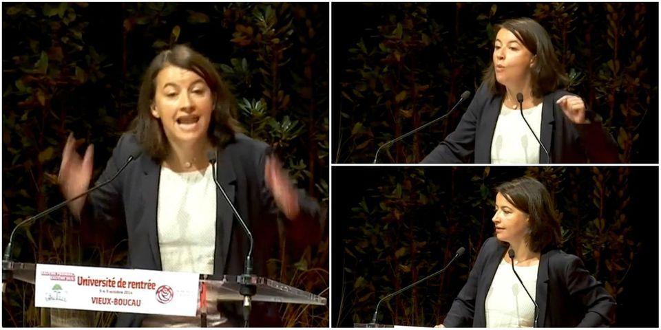 """Cécile Duflot à François Rebsamen: """"Arrête, laisse-nous faire"""""""