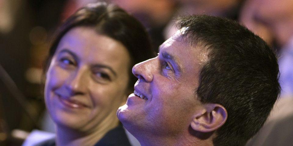 """Cécile Duflot à propos de Manuel Valls : """"le mec de gauche qui tient des discours de droite, c'est un peu l'écolo qui défend le nucléaire !"""""""