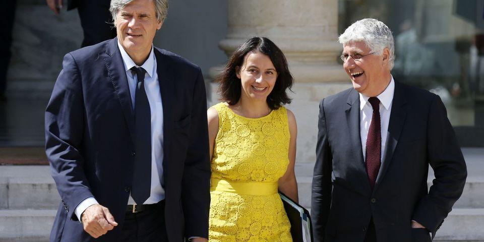 Cécile Duflot a une préférence pour Stéphane Le Foll et ... Emmanuel Macron