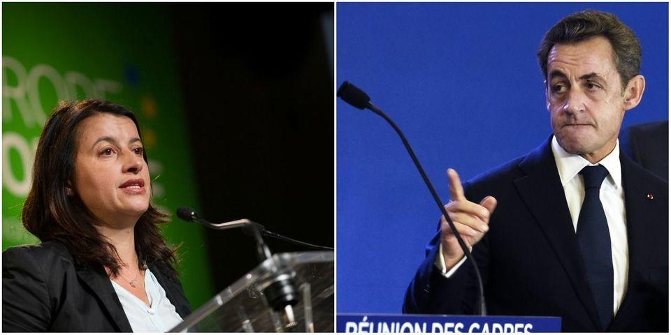 """Cécile Duflot estime que Nicolas Sarkozy """"fabrique des problèmes"""" et """"met du bois dans le brasier du racisme"""""""