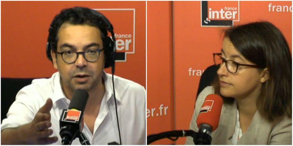 """Cécile Duflot fustige le """"petit regard légèrement méprisant"""" de Patrick Cohen sur France Inter"""