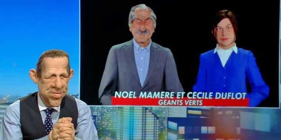 """Cécile Duflot sur les Guignols : """"Quand je prononce certaines phrases, je pense que je suis en train de faire ma marionnette"""""""