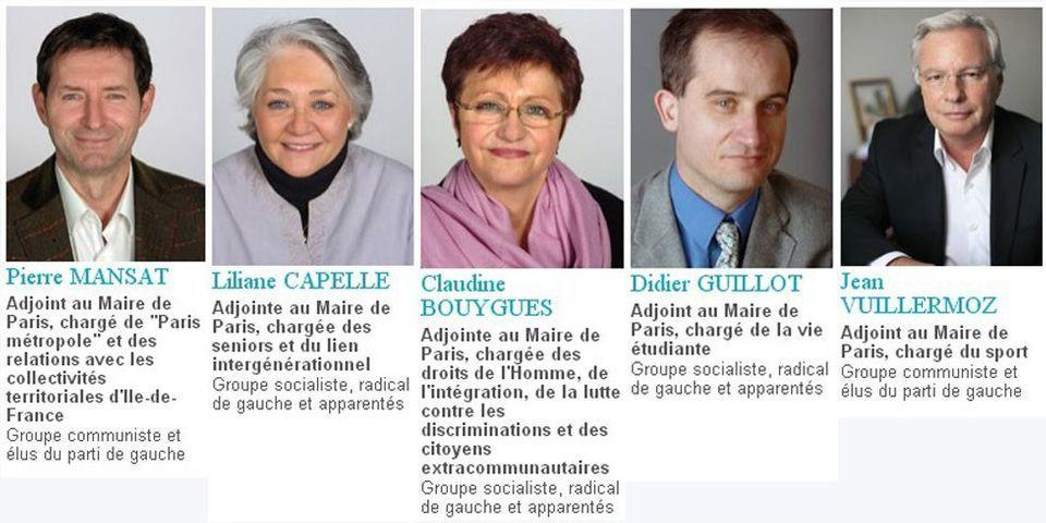 Ces cinq adjoints de Bertrand Delanoë, payés 5.500 euros par mois, qui vivent toujours dans des logements sociaux