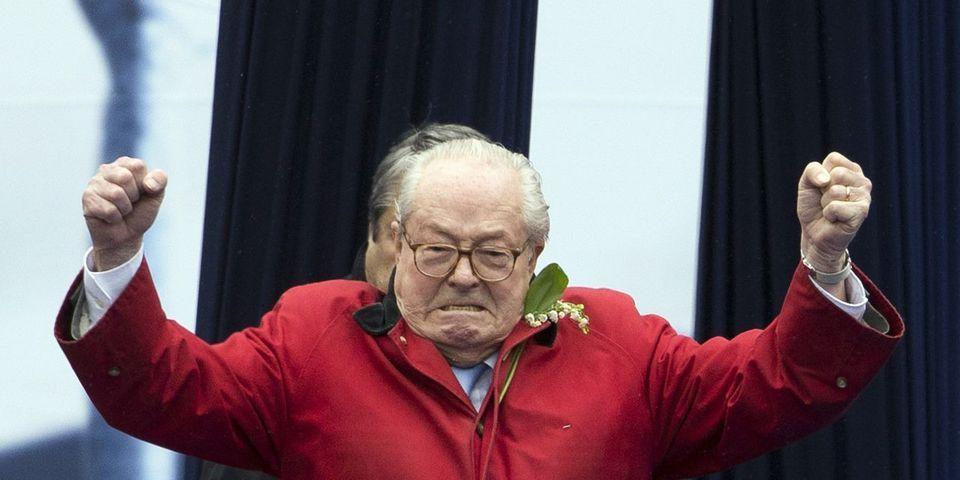 C'est officiel : Jean-Marie Le Pen reste le président d'honneur du FN