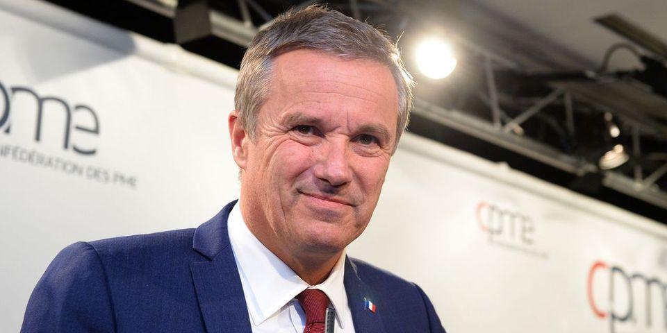 C'est officiel, Nicolas Dupont-Aignan a bien ses 500 parrainages pour être candidat à l'élection présidentielle