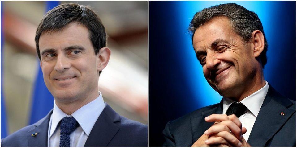 Cet argument anti-burkini commun à Manuel Valls et Nicolas Sarkozy