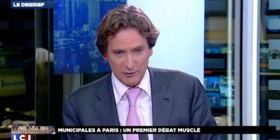 """Charles Beigbeder trouve que Anne Hidalgo """"passait mieux"""" en débat face à NKM"""