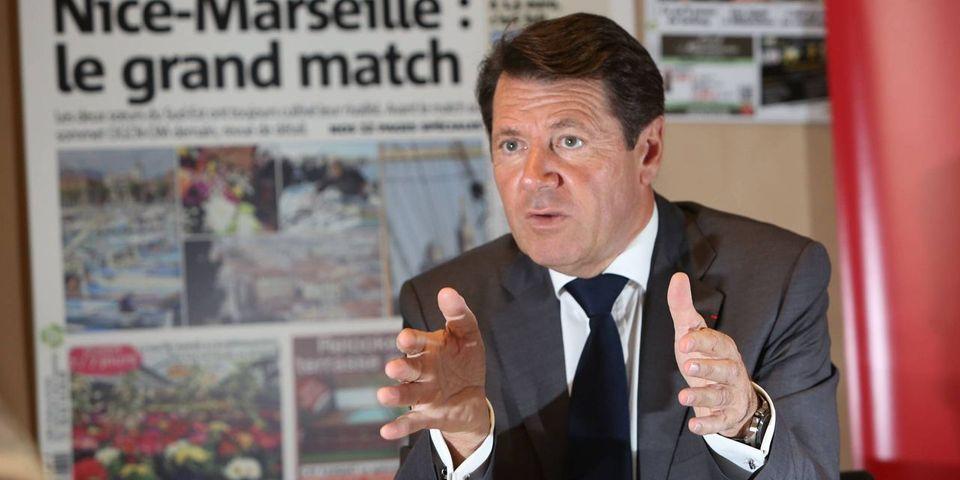 """Christian Estrosi acte le décès de l'UMP et appelle à une """"véritable révolution"""""""