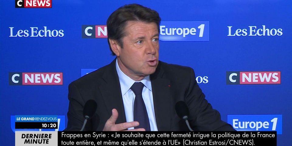Christian Estrosi conseille à François Fillon d'attaquer beaucoup plus Marine Le Pen