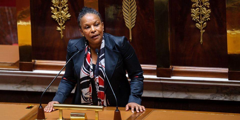 """Christiane Taubira défend les députés PS """"frondeurs"""" : """"si on considère que les textes du gouvernement ne peuvent être modifiés, on n'a qu'à abroger le Parlement"""""""