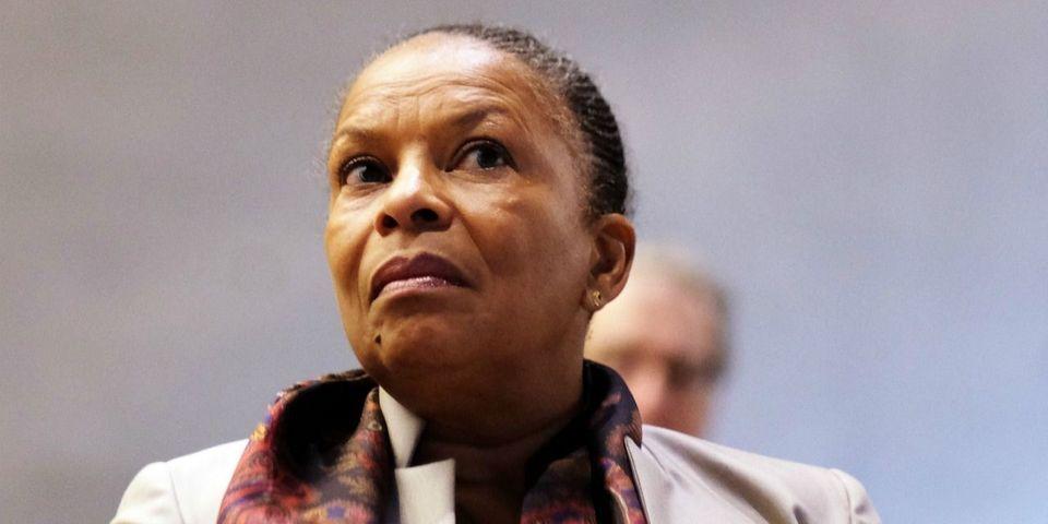 Christiane Taubira pas ravie de l'annulation de la condamnation de la candidate FN qui l'avait comparée à un singe