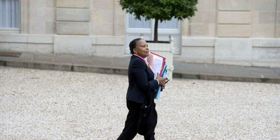 """Christiane Taubira revendique sa """"bataille en interne"""" pour faire évoluer la loi Macron"""