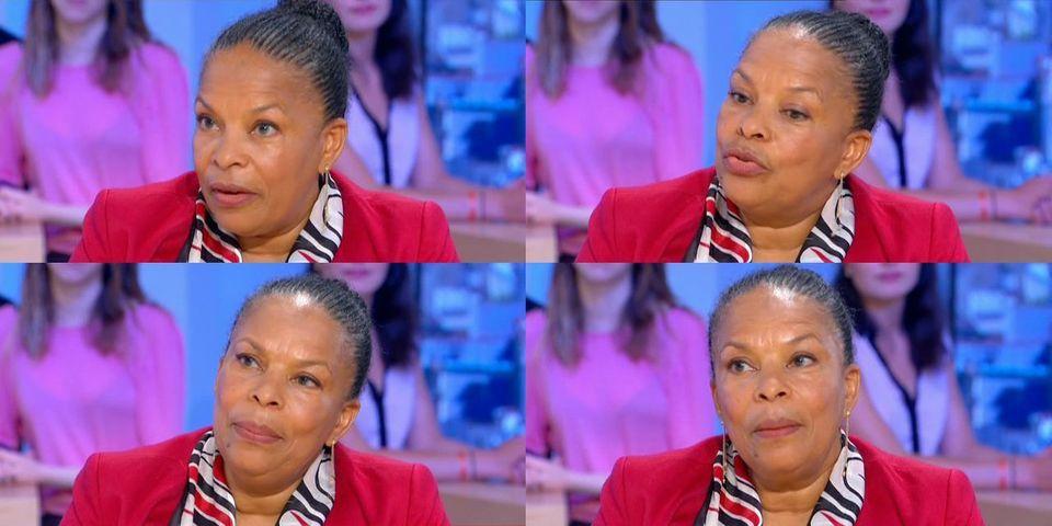 """Christiane Taubira revendique son droit à """"avoir le blues"""""""