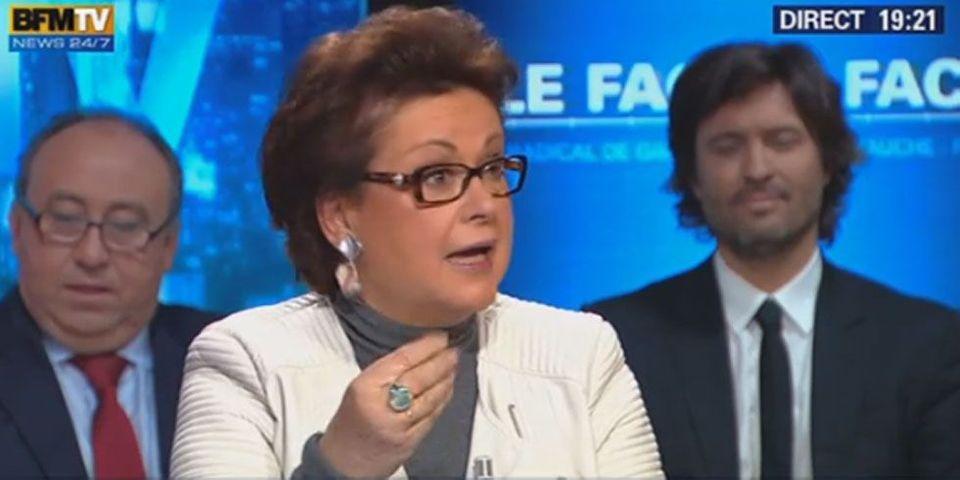 """Christine Boutin estime que la digue entre la gauche, la droite et le FN est """"tombée"""" et dit se sentir """"libérée"""""""