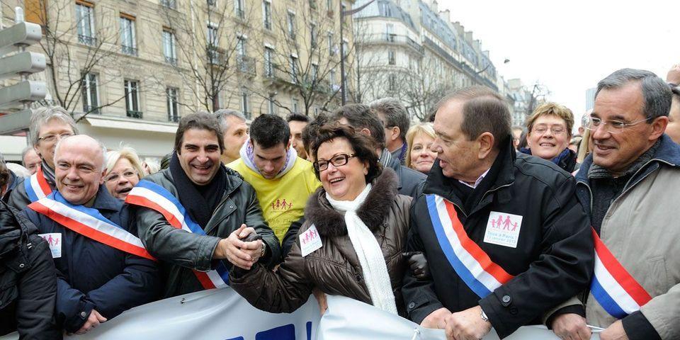 """À la veille des européennes, Christine Boutin officialise sa """"rupture"""" idéologique avec l'UMP"""