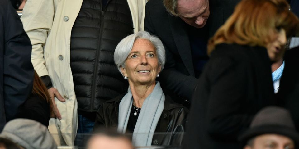 """Christine Lagarde réaffirme """"le rôle discret mais néanmoins déterminé"""" du roi Abdallah d'Arabie Saoudite pour les droits des femmes"""