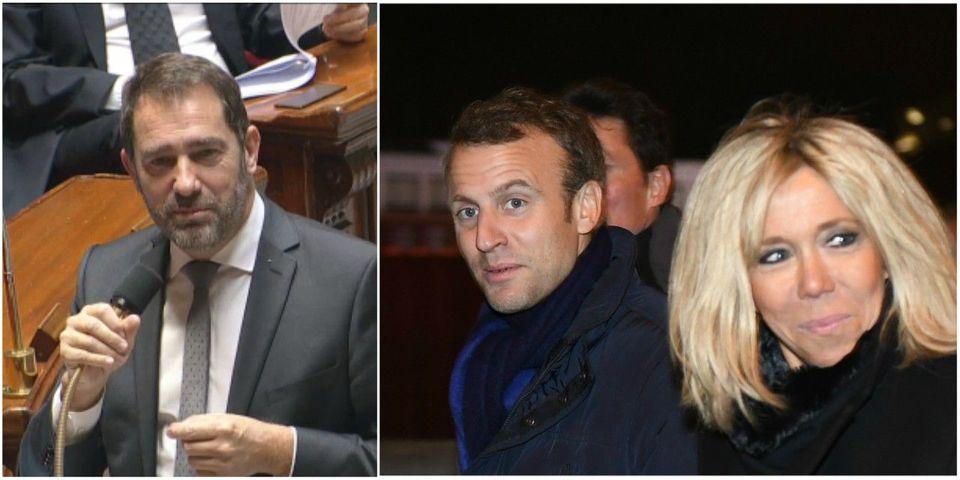 """Christophe Castaner défend le budget dévolu à Brigitte Macron : """"Le président de la République n'a pas embauché Brigitte Macron, il l'a épousée"""""""