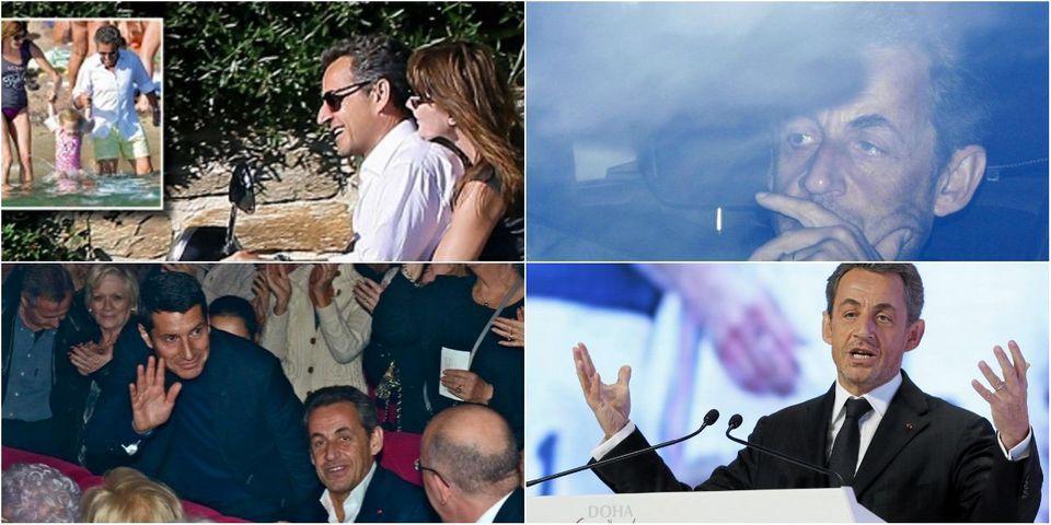 """Chronologie. Cartes postales, conférences et retours en politique : les deux ans de """"silence"""" de Nicolas Sarkozy"""