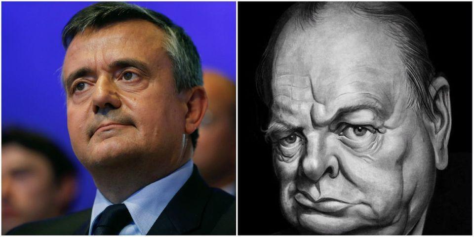 Cinquante ans après la mort de Churchill, Yves Jégo veut s'inspirer du Premier ministre anglais