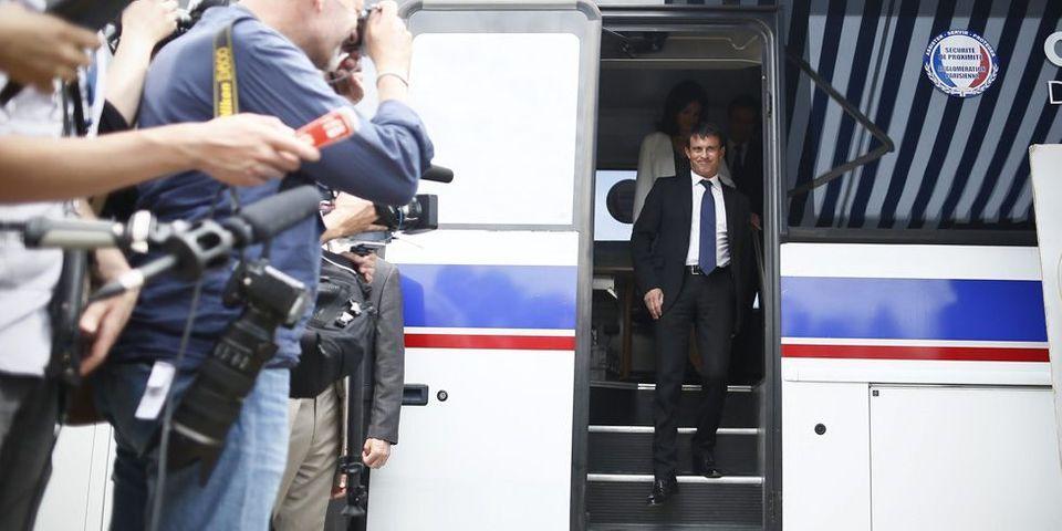 Classement final : Manuel Valls premier du baromètre du Lab sur l'activisme estival des ministres