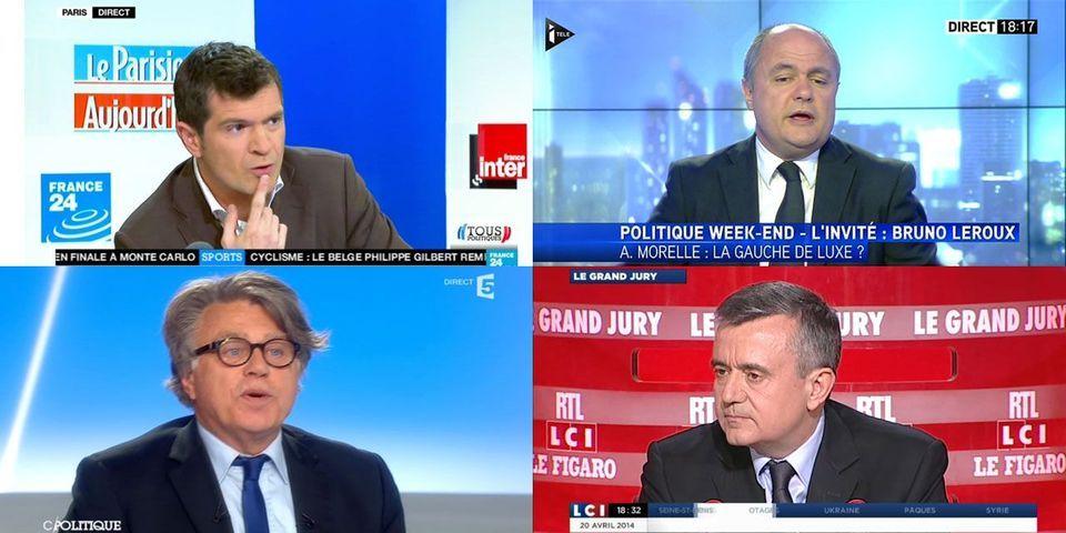 Collard, Apparu, Le Roux, Jégo : suivez le multiplex politique de ce dimanche 20 avril