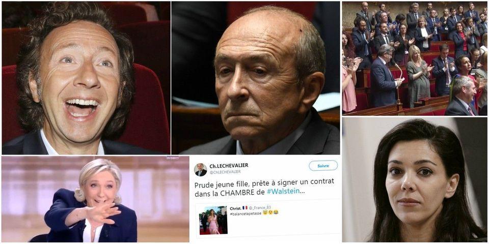 Collomb convoque Stéphane Bern après un tweet favorable à Wauquiez, article le plus lu de la semaine