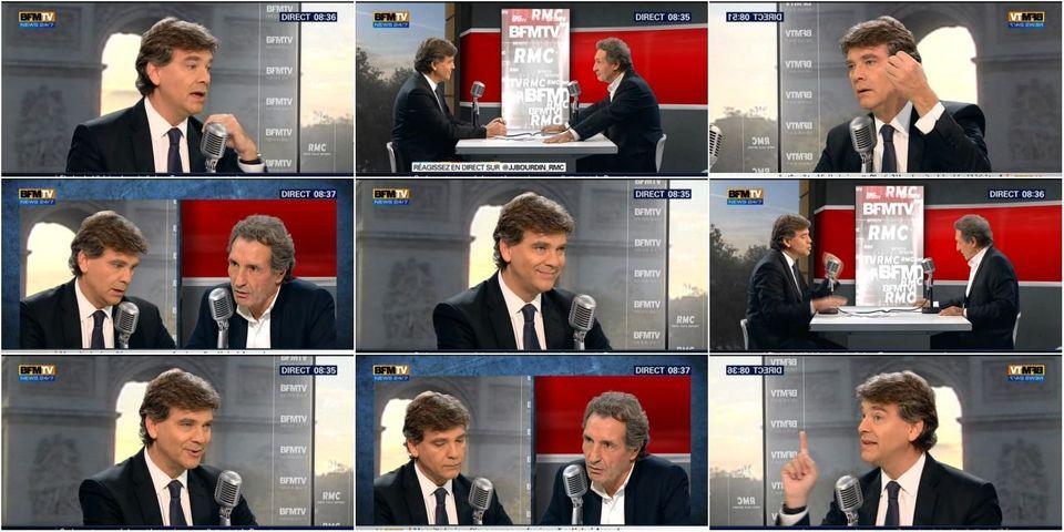 Comment Arnaud Montebourg a (presque) réussi à ne pas dire de mal de François Hollande et Manuel Valls