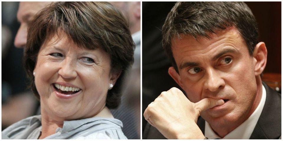 Comment Aubry a court-circuité la présentation de la loi Macron par le Premier ministre et la majorité