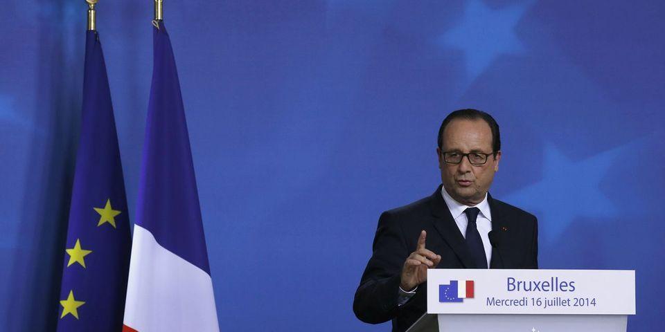 Comment François Hollande justifie la décision de la préfecture de police de Paris d'interdire une manifestation pro-palestinienne