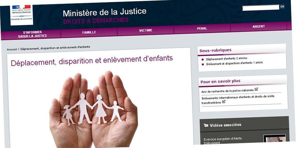 Comment le logo de la Manif pour tous se retrouve dans des publicités et sur le site du ministère de la Justice